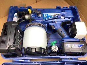 TC Graco TrueCoat Plus Airless Handheld Cordless Paint Sprayer NEW 18v
