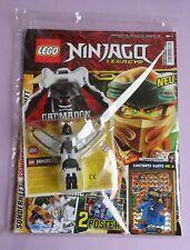 Revista lego Ninjago Legacy 1/19 + tarjeta le 6 Mega Power Jay + Garmadon