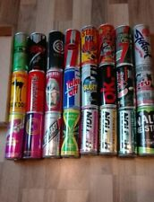 SET 2 Energy Drink Dosen Sammlung 24 Leere verschiedene Cans 250ml Empty Monster