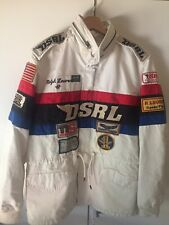 Denim & Supply Ralph Lauren Racing Jacket S Patches White Racer Jeans DSRL Polo