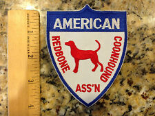 Patch- American Redbone Coonhound Association