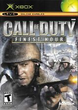 Xbox Live Game - Call of Duty Finest Hour - Complete With Booklet Manual