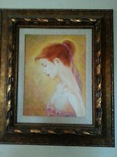 "Charles Lee ""In the Sun"" A UNIQUE work hand signed original painting on canvas"