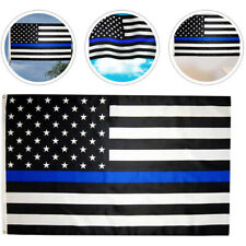 New listing 3'x5' Flag White Blue Line Police Lives Matter Law Enforcement American Us Usa