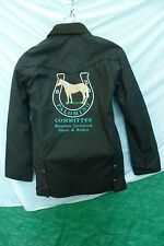 Schaefer Houston Livestock Show Horse Riding Coat  Jacket  Palomino