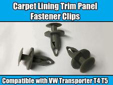 20x Clips For VW Transporter T4 T5 LONGER Lining Carpet Trim Panel Fixing GREY