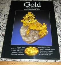 extraLapis English No. 5 Gold The Noble Mineral 2003 Mega-Nuggets Pseudomorphs