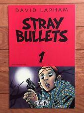 El Capitan STRAY BULLETS #1 Third Printing David Lapham 1995