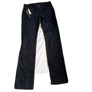 James Jeans Hunter High Rise Straight Leg Bodega Dark Jeans Size 31