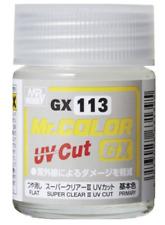 Mr. Hobby Mr Color GX-113 Super Clear III UV Cut Flat 18ml