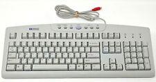 "Hewlett Packard Keyboard PS/2 Plug 5' 10"" Wired Cord Adjustable legs RT2856TW HP"