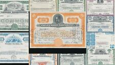 Pepsi Cola Phelps Dodge Philadelphia Ralston Share Certificates x 11(G17814)