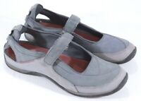 Ecco Women's Mary Jane Tennis Shoes Athletic Receptor Sneakers Grey Size 8.5