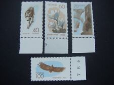 Norway 1970 Nature Conservation Year set of 4 stamps MNH SG 644-647 Cat £5-50