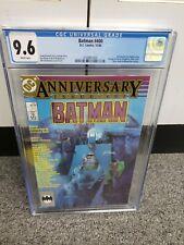 1986 DC Comics BATMAN #400 Anniversary Issue w/Stephen King CGC 9.6