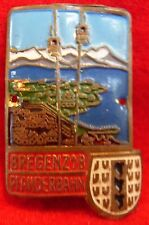 Bregenz Pfanderbahn used badge mount stocknagel hiking medallion G5239A