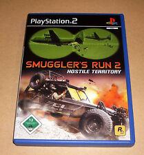 PLAYSTATION 2 gioco-Smuggler 'S RUN 2-Hostile Territory-ps2 GAME tedesco