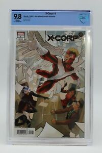 X-Corp (2021) #1 Otto Schmidt 1 In 25 Variant CBCS 9.8 Blue Label White Pages