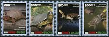 Guinea-Bissau Turtles Stamps 2020 MNH Box Pond Slider Turtle Reptiles 4v Set