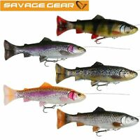 Savage Gear Line Thru Pulse Tail 4D Soft Lures New For 2019