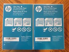 "HP GLOSSY VIVID PHOTO PAPER 4""x6"" CG937A 2 PACKS OF 180 (360 PRINTS) - NEW"