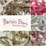 Berties Bows Leopard Print 16mm Grosgrain Ribbon - 5 Colours - 1m & 2m