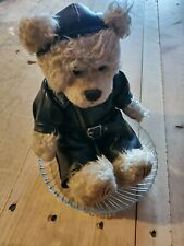 Vintage Scenty Bear Aromic Bear with player leather handcrafted new in package