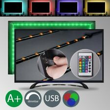 Led USB Backlight Tv Hintergrund-Beleuchtung Licht-Band Tiras Rayas 48x RGB