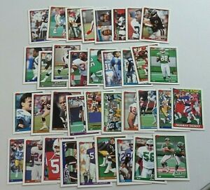 Lot of 36 1991 TOPPS Football Cards Commons & Minor Stars 9135