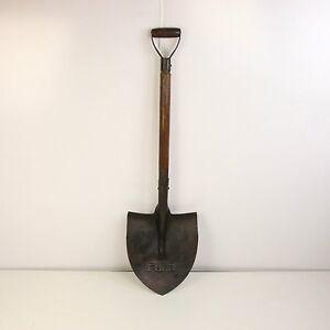 Industrial Vintage Antique Classic Metal & Wood Handled Shovel 2