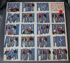 """LP Vinilo 12"""" 33 rpm - BROS - PUSH - 1988 CBS UK"""