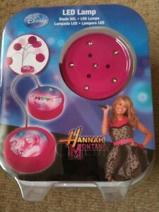 Disney Hannah Montana Led Lamp Desk Bed Side Gift New