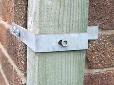 Gate Post Cornerband 3x3 inch 75x75mm Corner Wall Band WITH 3 FREE THUNDERBOLTS