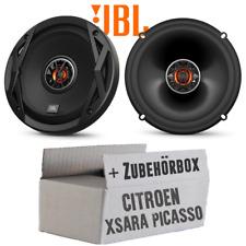 JBL Lautsprecher für Citroen Xsara Picasso 16cm Boxen 2-Wege Koax Einbauset Tür