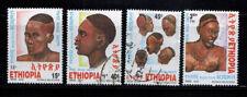 Ethiopia, hairstyles, 2005, postally used.