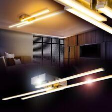 LED Lámpara de techo diseño elegante metal color cromo salón dormitorio pasillo
