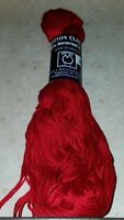 TAHKI STACY CHARLES 100% MERCERIZED COTTON CLASSIC YARN ~ COLOR #3488 DEEP RED