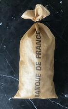 1 SAC BANQUE DE FRANCE PIECES MONNAIES BILLETS