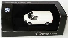 RARE VW T5 7H TDI TRANSPORTER VAN 2010 CANDY WHITE 1:87 WIKING (DEALER MODEL)