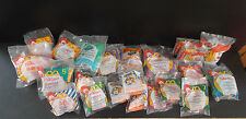 Huge lot McDonalds Happy Meal toys Peter Pan Hercules Mighty Max Sonic FREE SHIP
