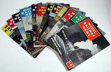 "LOT OF 12 VINTAGE ""MODEL RAILWAY NEWS"" MAGAZINES UK IMPORT - 1958 THRU 1962 EXC!"