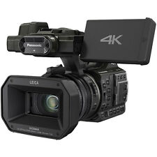 Panasonic HC-X1000 4K 60p/50p Cinema Black Video Professional Camcorder Ultra HD