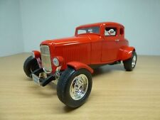 HOT ROD FORD 5 window rouge 1932 1/18