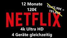 Netflix 4k UHD Ultra HD 12 Monate