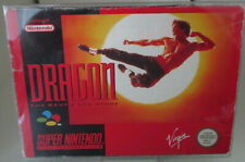 Dragon The Bruce Lee Story (Nintendo SNES) PAL OVP/Modul/Anleitung