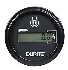 Durite-Hora calibrador de panel de control de motor 52mm Digital Lcd - 0-523-68 máquina de planta