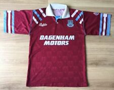 """West Ham United Bukta Original 1992 1993 Home Shirt (S 34/36"""") Dagenham Motors"""