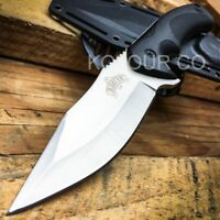 "9"" TACTICAL BOWIE SURVIVAL HUNTING KNIFE w/ SHEATH MILITARY Combat Fixed Blade"