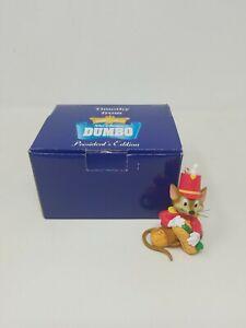 Vintage Grolier Disney Classics President's Edition Dumbo Timothy Mouse Ornament