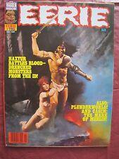 Eerie # 116 Cover of Haxtur by Enrich